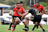 LEMEKI (レメキ ロマノ ラヴァ) in action during the Hurricanes Hinters v Wolfpack at Jerry Collins Stadium, Porirua, New Zealand on Friday 29 March 2019. <br /> Photo by Masanori Udagawa. <br /> www.photowellington.photoshelter.com