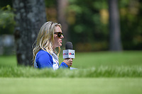 Golf analyst, Jessica Marksbury watches the action on 2 during round 4 of the U.S. Women's Open Championship, Shoal Creek Country Club, at Birmingham, Alabama, USA. 6/3/2018.<br /> Picture: Golffile | Ken Murray<br /> All photo usage must carry mandatory copyright credit (&copy; Golffile | Ken Murray)
