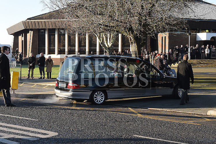 The funerals of Josie Duff and Kathy McDonald who were killed crossing the road at Hunterstown, County Louth, arrive at the Church of the Nativity of Our Lady Ardee.Photo:Colin Bell/pressphotos.ie