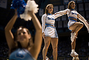 November 18, 2008. Chapel Hill, NC..UNC vs. Kentucky, at the Dean Smith Center in Chapel Hill.. Cheerleaders.