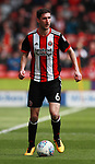 Chris Basham of Sheffield Utd during the championship match at the Bramall Lane Stadium, Sheffield. Picture date 14th April 2018. Picture credit should read: Simon Bellis/Sportimage