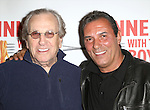 "Danny Aiello and Lee Mazzilli attends the off-Broadway Opening Night Performance of  ""Dinner With The Boys"" at Acorn Theatre on May 4, 2015 in New York City."