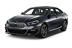 2020 BMW 2-Series M-Sport 4 Door Sedan Angular Front automotive stock photos of front three quarter view