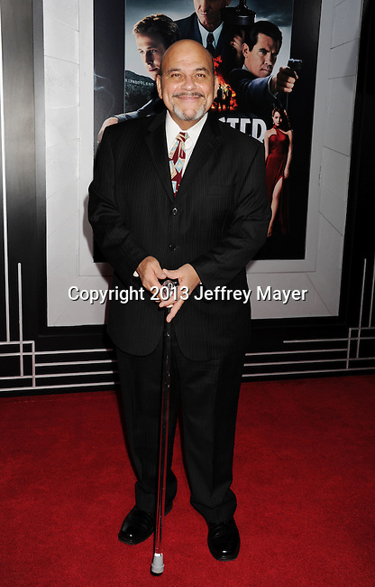 HOLLYWOOD, CA - JANUARY 07: Jon Polito arrives at the 'Gangster Squad' - Los Angeles Premiere at Grauman's Chinese Theatre on January 7, 2013 in Hollywood, California.