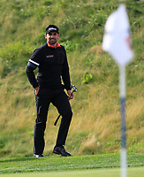 Lee Slattery (ENG) on the 12th green during Round 4 of the D+D Real Czech Masters at the Albatross Golf Resort, Prague, Czech Rep. 03/09/2017<br /> Picture: Golffile | Thos Caffrey<br /> <br /> <br /> All photo usage must carry mandatory copyright credit     (&copy; Golffile | Thos Caffrey)