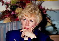 FILE PHOTO :  <br /> Candian premier and conservative leader<br /> Kim Campbell<br /> during the 1993 electoral campaign.<br /> <br /> Photo :  Pierre Roussel  - Agence Quebec Presse