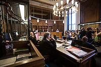 Berlin, Saal 500, am Montag (13.05.13) in Landgericht in Berlin vor dem Prozessbeginn im Fall Jonny K. gegen sechs Männer im Alter zwischen 19 und 24 Jahren. Foto: Maja Hitij/CommonLens