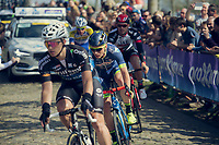 Mark McNally (GBR/Wanty-Groupe Gobert) is part of the early breakaway<br /> <br /> 101th Ronde Van Vlaanderen 2017 (1.UWT)<br /> 1day race: Antwerp › Oudenaarde - BEL (260km)
