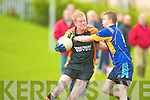 Ballymac's Michael Leen and Sneem's David Breen.