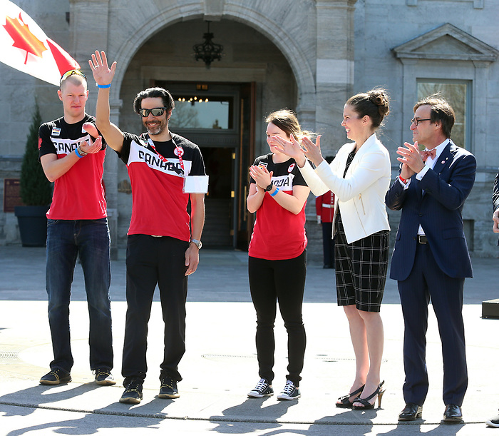 Canadian Paralympic Committee-9may2018-Rideau Hall. Photo: Scott Grant/CPC
