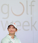 BADHOEVEDORP -  golfprofessional Anne van Dam .  Van 20 t/m 22 mei zal op de International Golfcourse de ING Private Banking Golf Week voor het eerst gehouden worden.  COPYRIGHT KOEN SUYK