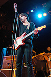 Christo Bowman of Bad Suns performs at Bogarts in Cincinnati, Ohio