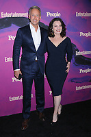 13 May 2019 - New York, New York - Peter Marc Jacobson and Fran Drescher at the Entertainment Weekly & People New York Upfronts Celebration at Union Park in Flat Iron. Photo Credit: LJ Fotos/AdMedia