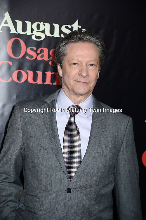 "Chris Cooper attends the New York Premiere of ""August: Osage County"" on December 12, 2013 at the Ziegfeld Theatre in New York City."