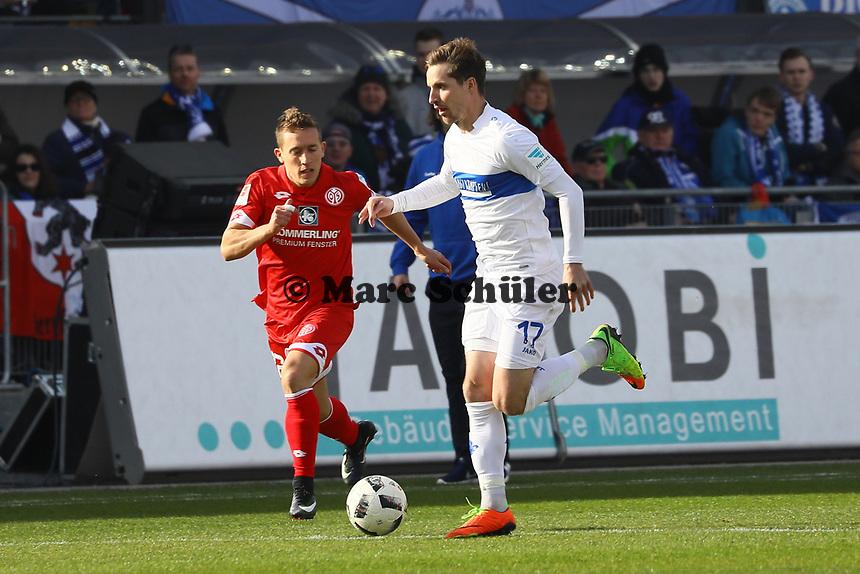 Sandru Sirigu (SV Darmstadt 98)- 11.03.2017: SV Darmstadt 98 vs. 1. FSV Mainz 05, Johnny Heimes Stadion am Boellenfalltor
