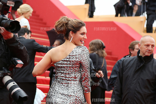 Kelly Brook arriving for the 'Vous N'avez Encore Rien Vu' (You ain't seen nothin yet) premiere during the 65th Cannes Film Festival.Cannes, France. 21/05/2012 Picture by: Henry Harris / Featureflash