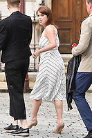 Princess Eugenie arrives for the VIP preview of the Royal Academy of Arts Summer Exhibition 2016
