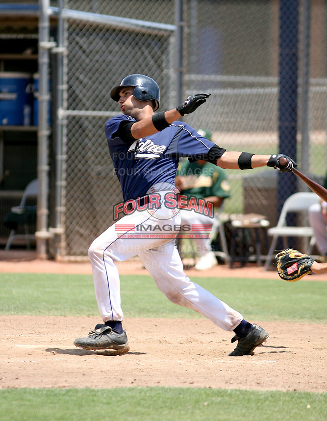 Robert Lara / AZL Padres..Photo by:  Bill Mitchell/Four Seam Images