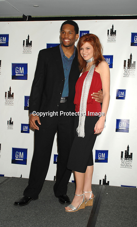 "Lawrence Saint-Victor and Mandy Bruno of ""Guiding Light""..at The New York Women in Film and Television Muse Luncheon honoring Katie Couric, John Wells, Ellen Lewis, Mable Haddock and Betty Cohen on December 14, 2006 at The New York Hilton...Robin Platzer, Twin Images.."