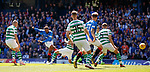 12.05.2019 Rangers v Celtic: Jermain Defoe has a shot