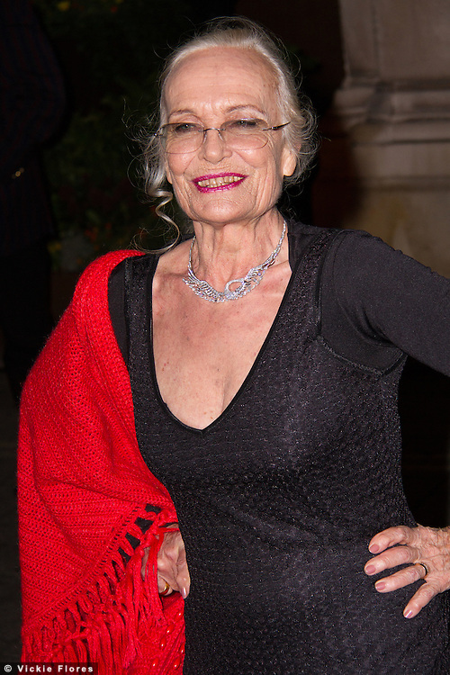 OIC - ENTSIMAGES.COM -  Shirley Eaton attends the Cocktails with Marilyn Monroe photographic event on February 20th, 2014 at The Langham hotel in London. Photo by Vickie Flores/Ents Images/OIC 0203 174 1069