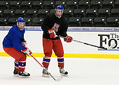 ?, Michal Hlinka  (Czech Republic - 12) - Team Czech Republic practiced at the Urban Plains Center in Fargo, North Dakota, on Saturday, April 18, 2009 in the morning prior to their final match against Sweden during the 2009 World Under 18 Championship.