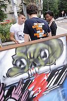 - Pavia, manifestazione contro la dipendenza patologica da giochi online e videopoker e contro il controllo della mafia sul gioco d'azzardo<br /> <br /> - Pavia, demonstration against the addiction to online games and video poker and against control of the Mafia on gambling