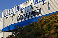 A Brooks Brothers store is pictured at Lee Premium Outlets in Lee (MA), Tuesday October 1, 2013.