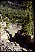 From Alpine Tunnel roadbed<br /> D&amp;RGW  Alpine Tunnel, CO