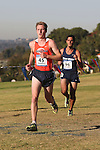 November 2, 2013; Malibu, CA, USA; Pepperdine runner Aric Crowell (45) during the WCC Cross Country Championship at Alumni Park.
