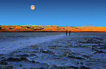 Death Valley Moonset