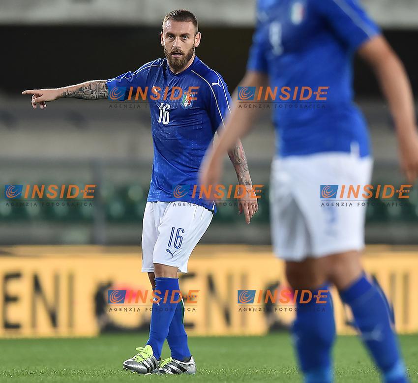 Daniele De Rossi Italia <br /> Verona 06-06-2016 Stadio Bentegodi Football Friendly Match Italia - Finlandia / Italy - Finland . Foto Andrea Staccioli / Insidefoto