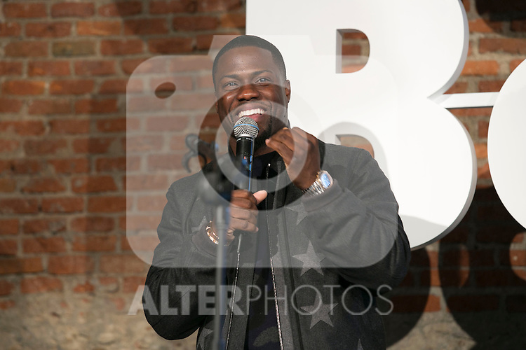 "Kevin Hart and Josh Gad attends the ""The Wedding Ringer"" Presentation at Matadero, Madrid,  Spain. February 05, 2015.(ALTERPHOTOS/)Carlos Dafonte)"
