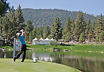 August 3, 2012: Vaughn Taylor from Augusta, Georgia tees off on the 14th hole during the second round of the 2012 Reno-Tahoe Open Golf Tournament at Montreux Golf & Country Club in Reno, Nevada.