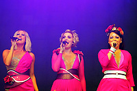 LONDON, ENGLAND - JULY 10: Faye Tozer, Claire Richards and Lisa Scott-Lee  of 'Steps' performing at Kew the Music, Kew Gardens on July 10, 2018 in London, England.<br /> CAP/MAR<br /> &copy;MAR/Capital Pictures
