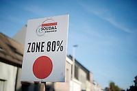 80% (time-cut) zone<br /> <br /> Jaarmarktcross Niel 2014