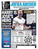 Daily Mail - 27-Nov-2019 - 'HARRY IS JOSE'S HERO' - Photo by Rob Newell (Camerasport via Getty Images)