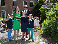 Princes Aymeric and Nicolas of Belgium first Communion - Belgium
