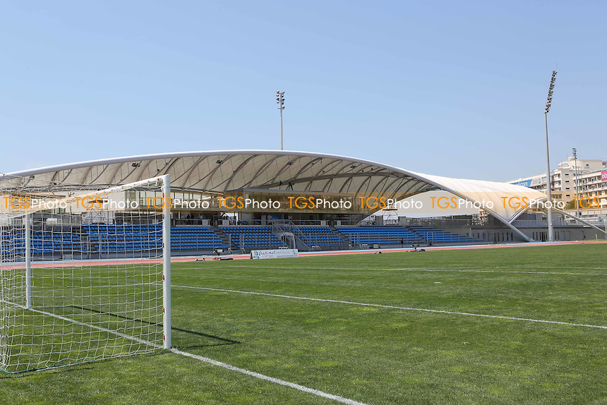 Main stand at Stade Leo Lagrange, Toulon - Ivory Coast Under-20 vs England Under-20 -2015 Toulon Tournament Football at Stade Leo Lagrange, Toulon, France - 30/05/15 - MANDATORY CREDIT: Paul Dennis/TGSPHOTO - Self billing applies where appropriate - contact@tgsphoto.co.uk - NO UNPAID USE