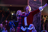 Office Christmas Party (2016)<br /> Kate McKinnon &amp; T.J. Miller     <br /> *Filmstill - Editorial Use Only*<br /> CAP/KFS<br /> Image supplied by Capital Pictures
