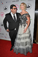 BEVERLY HILLS, CA. October 8, 2016: Jason Davis &amp; Date at the 2016 Carousel of Hope Ball at the Beverly Hilton Hotel.<br /> Picture: Paul Smith/Featureflash/SilverHub 0208 004 5359/ 07711 972644 Editors@silverhubmedia.com