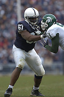 18 November 2006:  Penn State T Levi Brown (67)..The Penn State Nittany Lions defeated the Michigan State Spartans 17-13 for the Land Grant Trophy November 18, 2006 at Beaver Stadium in State College, PA..