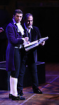 "Tony Yazbeck and Eliseo Roman performing during the MCP Production of ""The Scarlet Pimpernel"" Concert at the David Geffen Hall on February 18, 2019 in New York City."