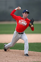 January 17, 2010:  Dye Christian (Los Angeles, CA) of the Baseball Factory Pacific Team during the 2010 Under Armour Pre-Season All-America Tournament at Kino Sports Complex in Tucson, AZ.  Photo By Mike Janes/Four Seam Images
