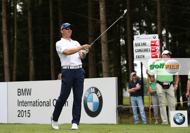 Niclas Fasth (SWE) from the 17th during Round One of the 2015 BMW International Open at Golfclub Munchen Eichenried, Eichenried, Munich, Germany. 25/06/2015. Picture David Lloyd | www.golffile.ie