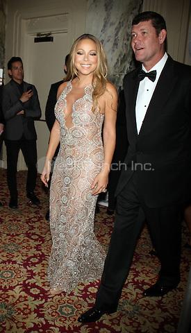 NEW YORK, NY-May 14: Mariah Carey, James Packer at 27th Annual GLAAD Media Awards at The Waldorf=Astoria in New York. NY May 14, 2016. Credit:RW/MediaPunch