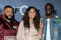 "LOS ANGELES - FEB 8:  DJ Khaled, Evvie McKinney, Sean Combs at the ""The Four"" Season 1 Finale Viewing Party at Delilah on February 8, 2018 in West Hollywood, CA"