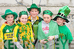 Catriona Clifford, Derek Clifford, Katie Dennehy, Donal Buckley and Cathal Costello at the St Patricks day parade in Milltown on Monday   Copyright Kerry's Eye 2008