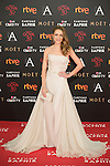 Silvia Abascal attends 30th Goya Awards red carpet in Madrid, Spain. February 06, 2016. (ALTERPHOTOS/Victor Blanco)