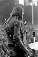 Berry Oakley of The Allman Brothers Band performing at the Sunset concert series 'Summerthing' at Boston on the Common in Boston, MA in the summer of 1971. <br /> *** NEVER BEFORE PUBLISHED PHOTOS *** <br /> &copy; Peter Tarnoff / MediaPunch